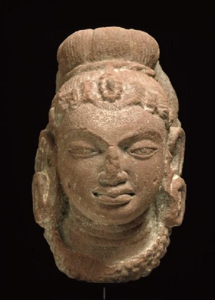 Female head with headdressfront