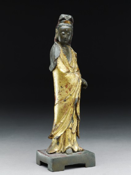 Standing figure of the bodhisattva Guanyinside