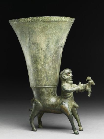 Rhyton in the form of a centaurside