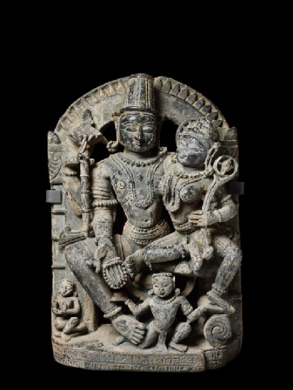 Figure of Vishnu and Lakshmi, or Lakshmi-Narayanafront