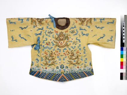 Child's coat with dragons and wavesEA1965.83