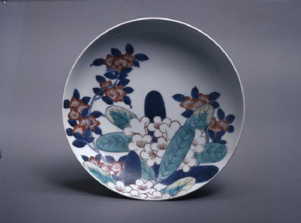 Dish with rhododendrons and azaleastop