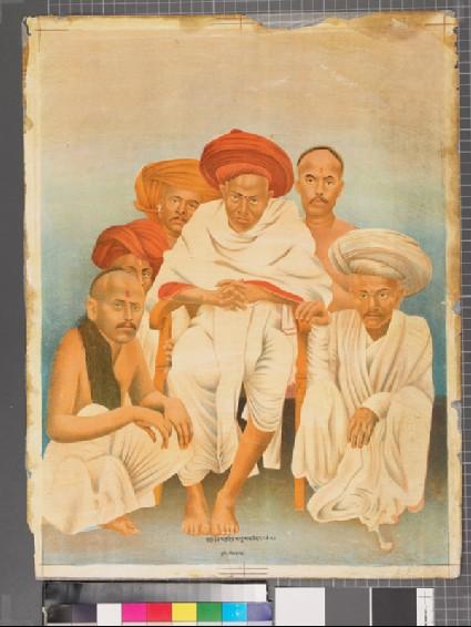 The holyman Yasavant Mahadev Sadhu Mamledarfront