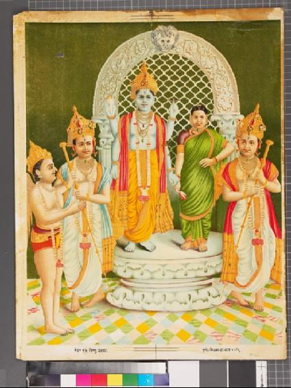 Vishnu and Lakshmifront