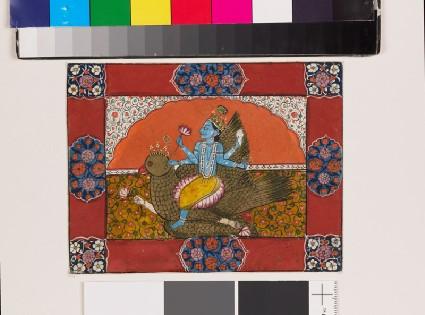 Vishnu on Garudafront