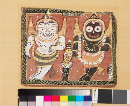 The Jagannatha Triofront