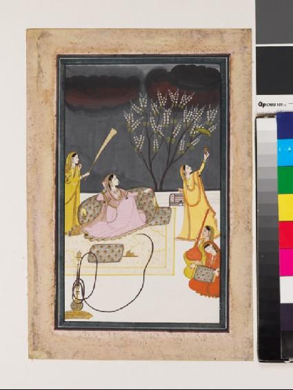 The Ragini Dhanasari of the Raga Dipakafront