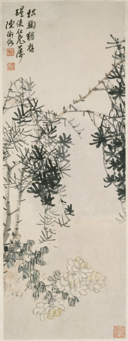 The Pine and the Chrysanthemum Endurefront, painting only