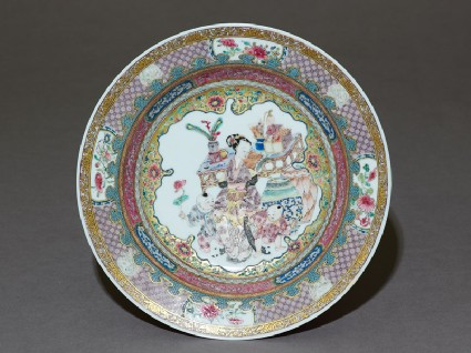 'Ruby-back' dish with domestic settingtop