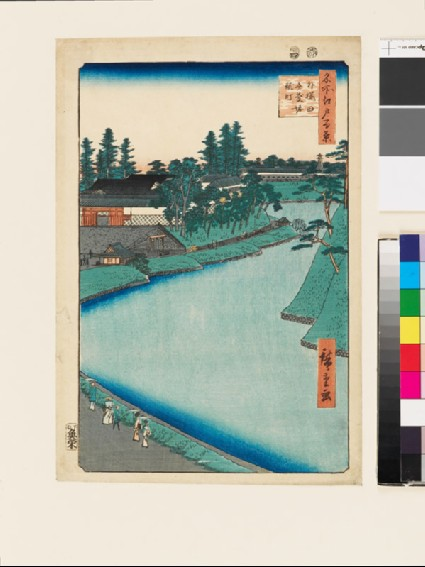 Benkei Moat from Soto-Sakurada to Kojimachifront