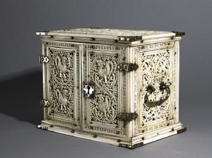 Ivory cabinetoblique