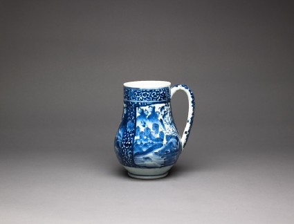 Tankard with landscapesoblique