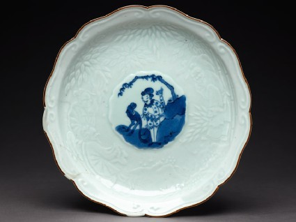 Foliated plate with harlequin and monkeytop