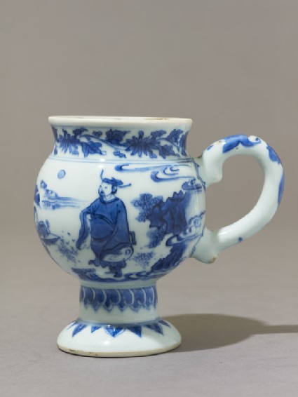 Mustard pot of Delft formside