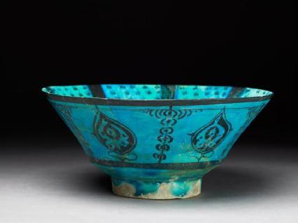 Bowl with poetic versesoblique