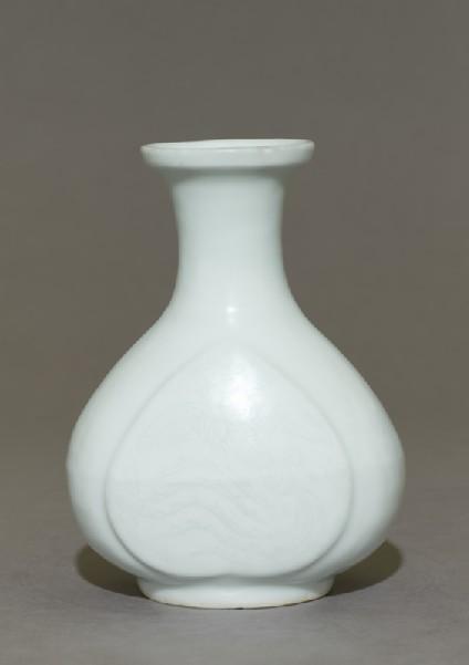 Vase with phoenixside