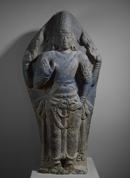 Standing figure of Vishnufront