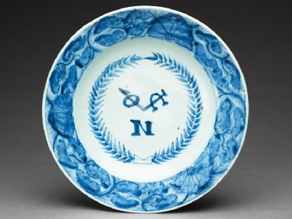 Plate with Dutch East India Company monogramtop