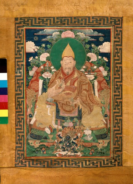 A lama of the Gelugpa sectfront