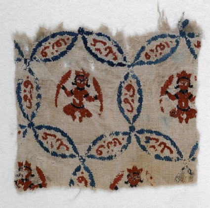 Textile fragment with Jupiter in Pisces or Mercury in Virgofront