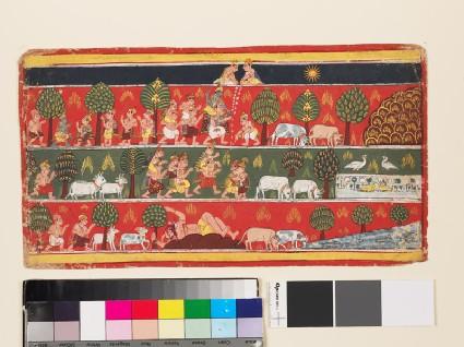 Krishna and the gopisfront