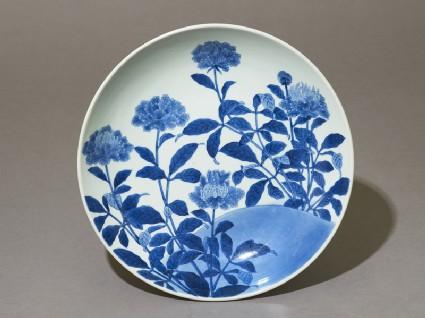 Dish with flowering plantstop
