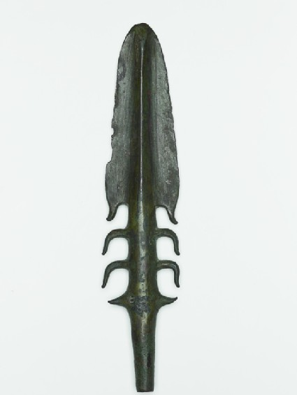 Copper harpoon from the Copper Hoard Cultureside