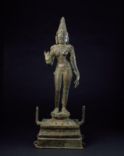 Standing figure of Parvatifront