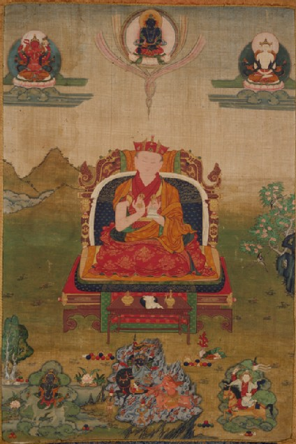 The 10th Shamarpa Lamafront