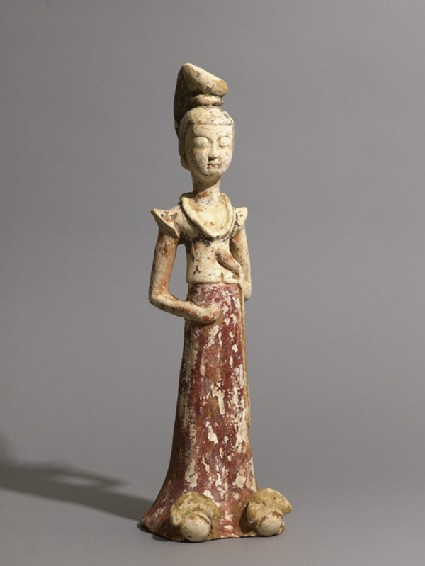 Standing figure of a ladyoblique