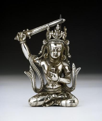 Figure of Manjushri, Bodhisattva of Wisdomfront