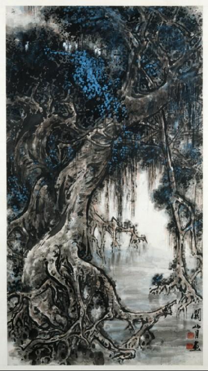 Mangrove treefront