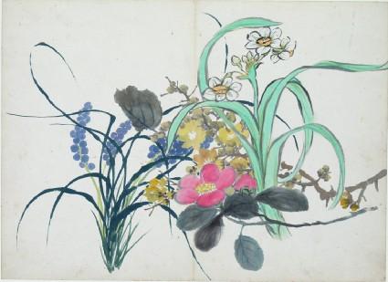 Spring flowersfront