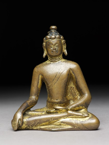 Seated figure of the Buddhafront