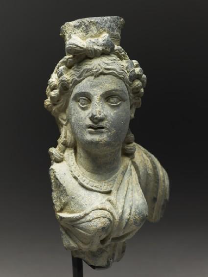 Fragmentary bust figure of the goddess Haritiside