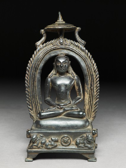 Seated figure of Rishabhanatha, the first Tirthankarafront