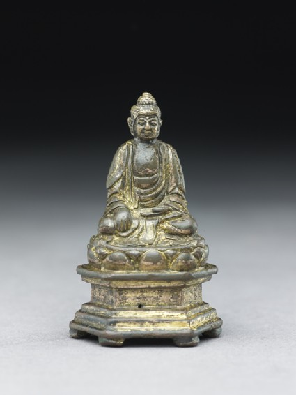 Seated Buddhist figurefront