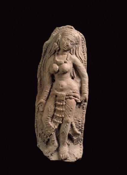 Plaque with female figurefront