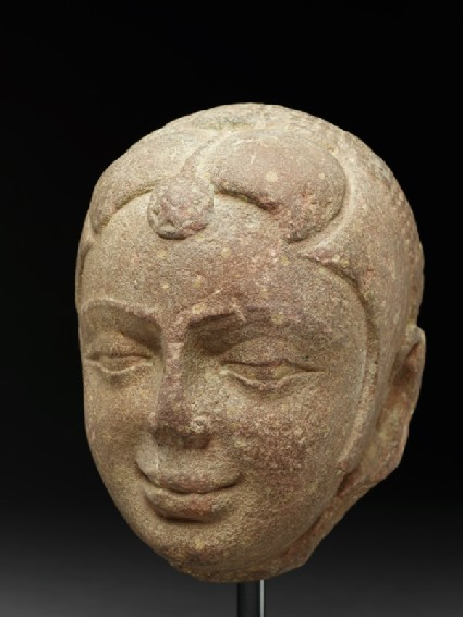 Head of a yakshi, or nature spiritside