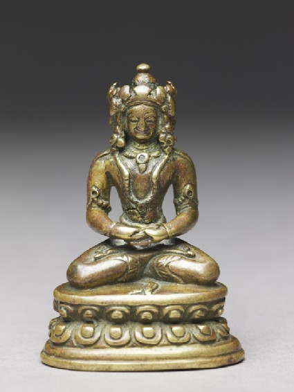 Seated figure of the Vairocana Buddhafront