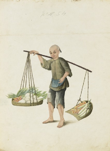 A Boy with Vegetablesfront