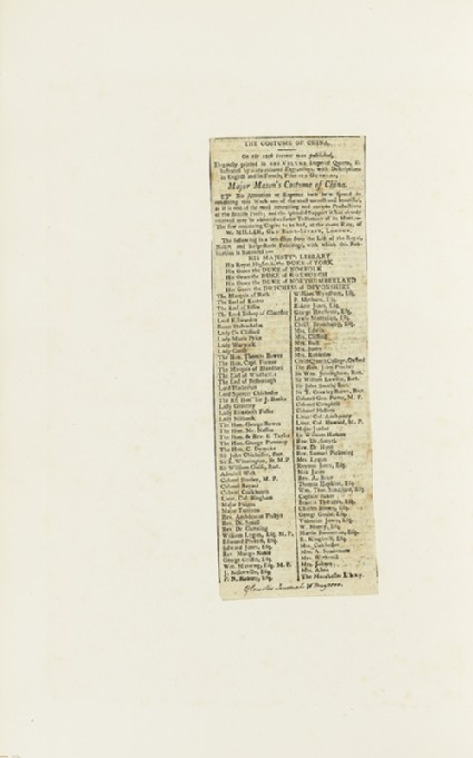 Newspaper cutting from the Gloucester Journalfront