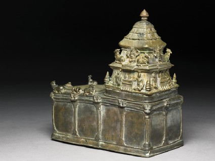 Model of a Shiva templeoblique