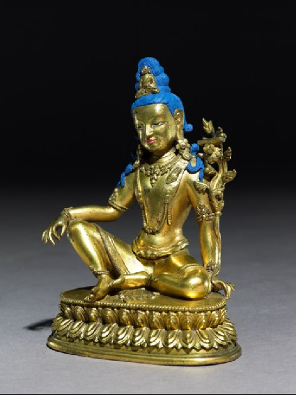 Seated figure of Padmapaniside
