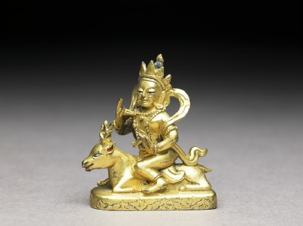 Figure of a bodhisattvafront
