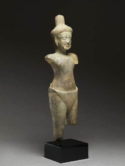 Standing figure of a rishi, or holy manside
