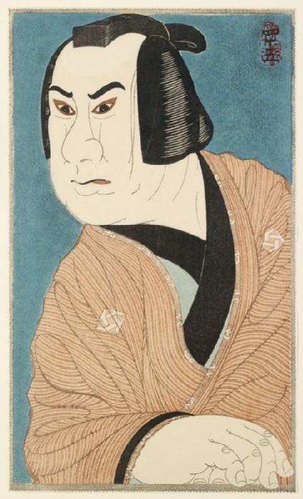 Nakamura Ganjirō III as Kamiya Jiheifront