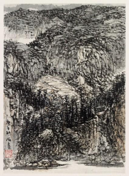 Mountainous landscapefront