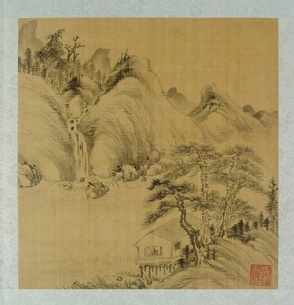 Album of landscapes by Qian Gufront