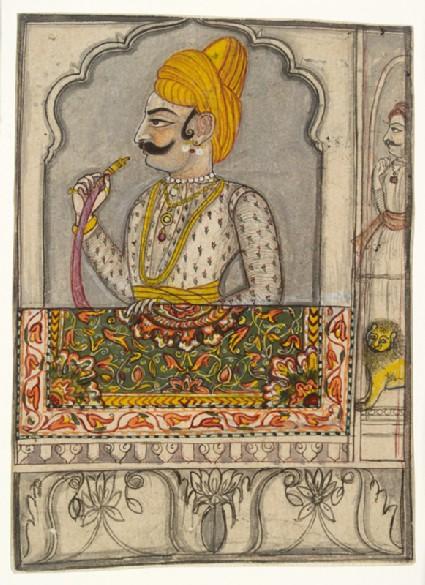 Raja Fateh Singh of Sitamaufront